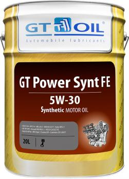 МАСЛО МОТОРНОЕ GT OIL POWER SYNT FE 5W-30