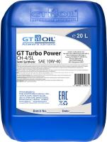 МАСЛО МОТОРНОЕ GT OIL TURBO POWER 10W-40 CH-4