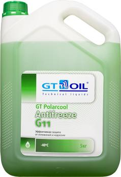 АНТИФРИЗ GT POLARCOOL ANTIFREEZE G11 (5 л.)